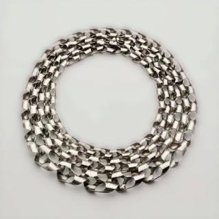 Bosch van den Francoise - inv nr 1.2008 - silver necklace 1968