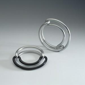 Bosch van den Francoise - inv nr 15.1993 and inv nr KNB 400 - aluminium bracelet 1970 and 1990