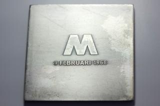 Bosch van den Francoise - inv nr xx - medal metro Rotterdam 1967 68 1