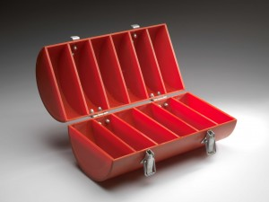 Bosch van den Francoise - inv nr xx - red perspex case 1974 open