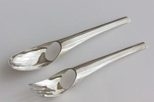 Bosch van den Francoise - inv nr xx - spoon and fork 1978
