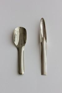 Bosch van den Francoise - inv nr xx - sugar spoon 1968 mustard spatula 1968