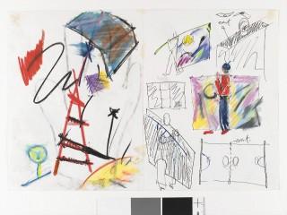 Degen Pierre – 5.2008 – tekening twee bladen 1984