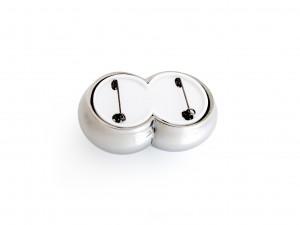 Passama Noon – inv nr xx – Broche Extra Button 2011 backside